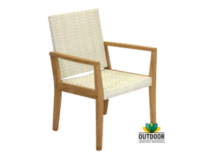 Negev Dining Chair Relaxed White