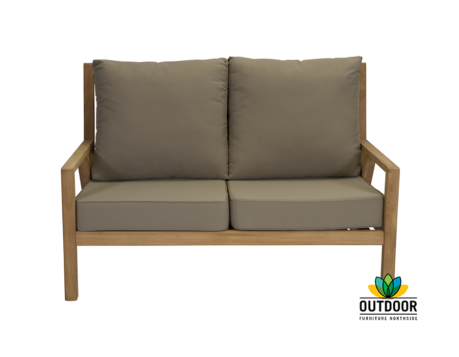 Oasis 2 Seater Sofa Oyster Outdoor Furniture Northside