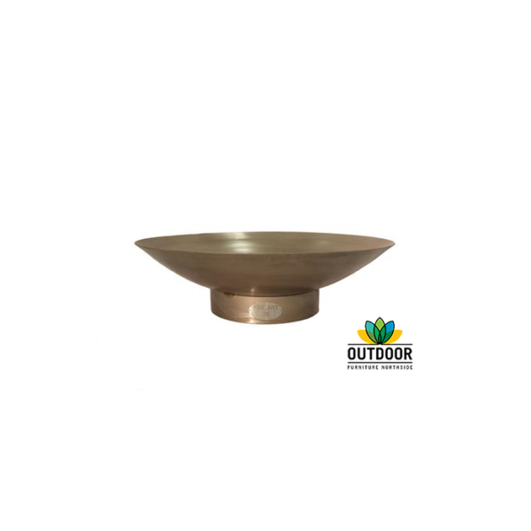 100cm Firepit - Stainless Steel