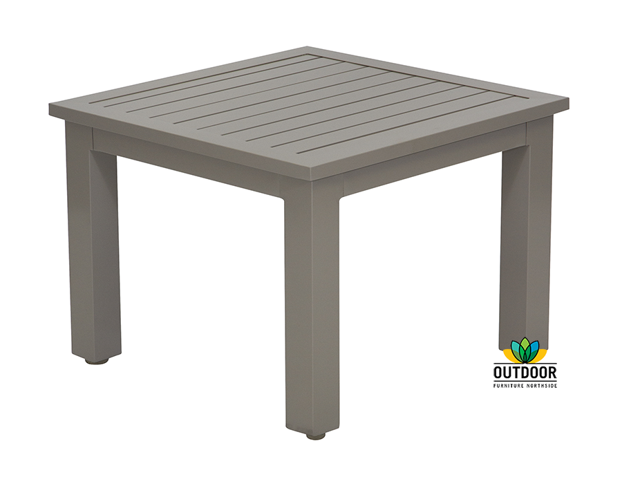 Aluminium Slat Coffee Table Outdoor Furniture Northside