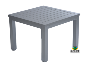 Aluminium Slat Coffee Table (Silver)