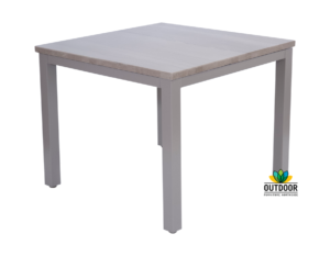 Aluminium Stone Top Table (Pebble)