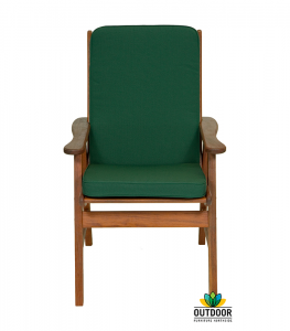 Chair Cushion Forest Green