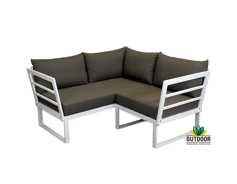 Disco Small Modular Corner Lounge With Arms Outdoor Furniture Northside