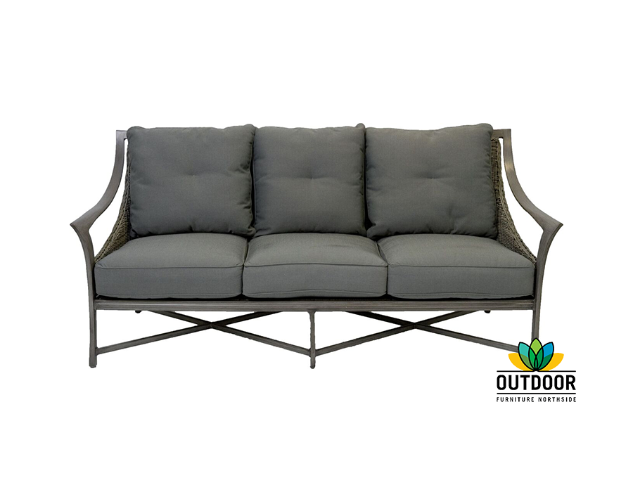 Grange 3 seater sofa outdoor furniture northside for Outdoor furniture 3 seater