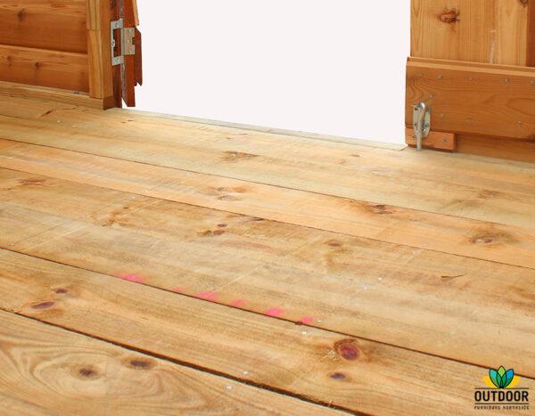 Rebated Floor Option