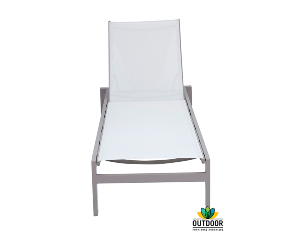 Salsa Sunlounger (Pebble-White)