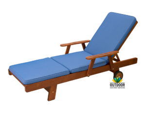 Sunlounger Cushion Cobalt Blue