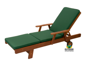 Sunlounger Cushion Forest Green