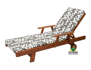 Sunlounger Cushion Katapus Grey