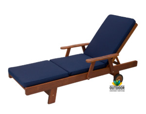 Sunlounger Cushion Navy Blue