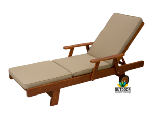 Sunlounger Cushion Oyster