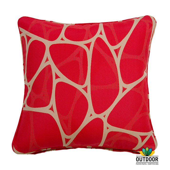 throw cushion parlee red outdoor furniture northside