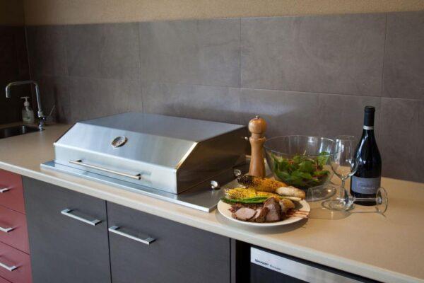 Heatlie Island Gourmet 600 with Hood