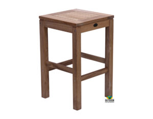 Caleb Teak Bar Stool
