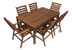 Erena 7 Piece Dining Setting